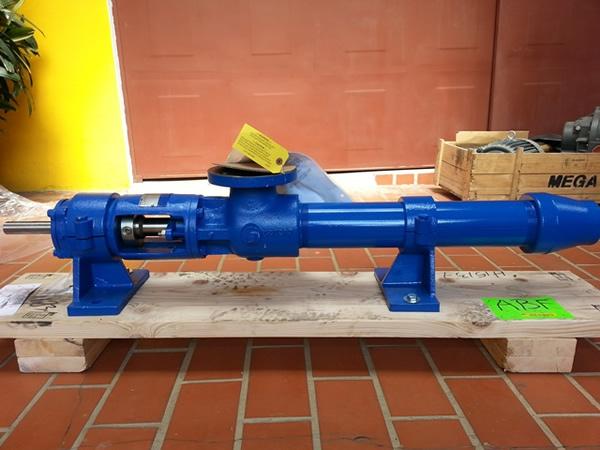 Bomba para trasiego de lecitina - Proyecto Inolasa Puntarenas