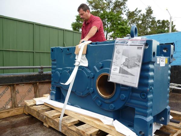 Motorreductor Industrial - Proyecto Dos Pinos
