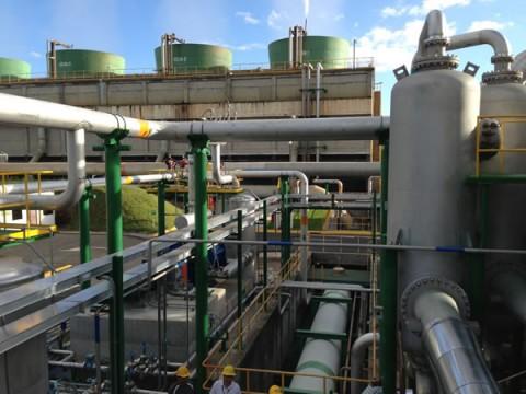 Ampliación Sistema Extracción Gases Incondesables en plantas Geotérmicas Miravalles 1 y 2