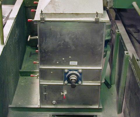 Tambor magnético en proyecto Azucarera La Victoria (Panamá)