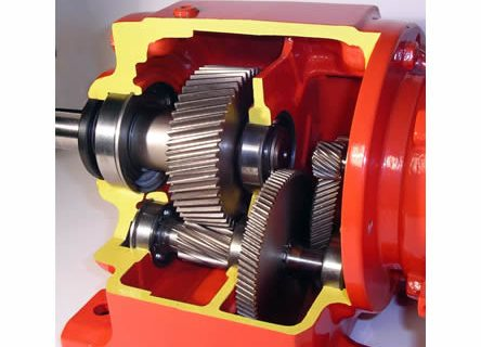 GEARBOX TYPE R – CUT