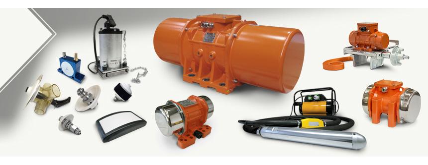 Vibradores y Sistemas de Fluidificación